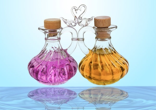 Best massage oils and natural lotions used at our spa